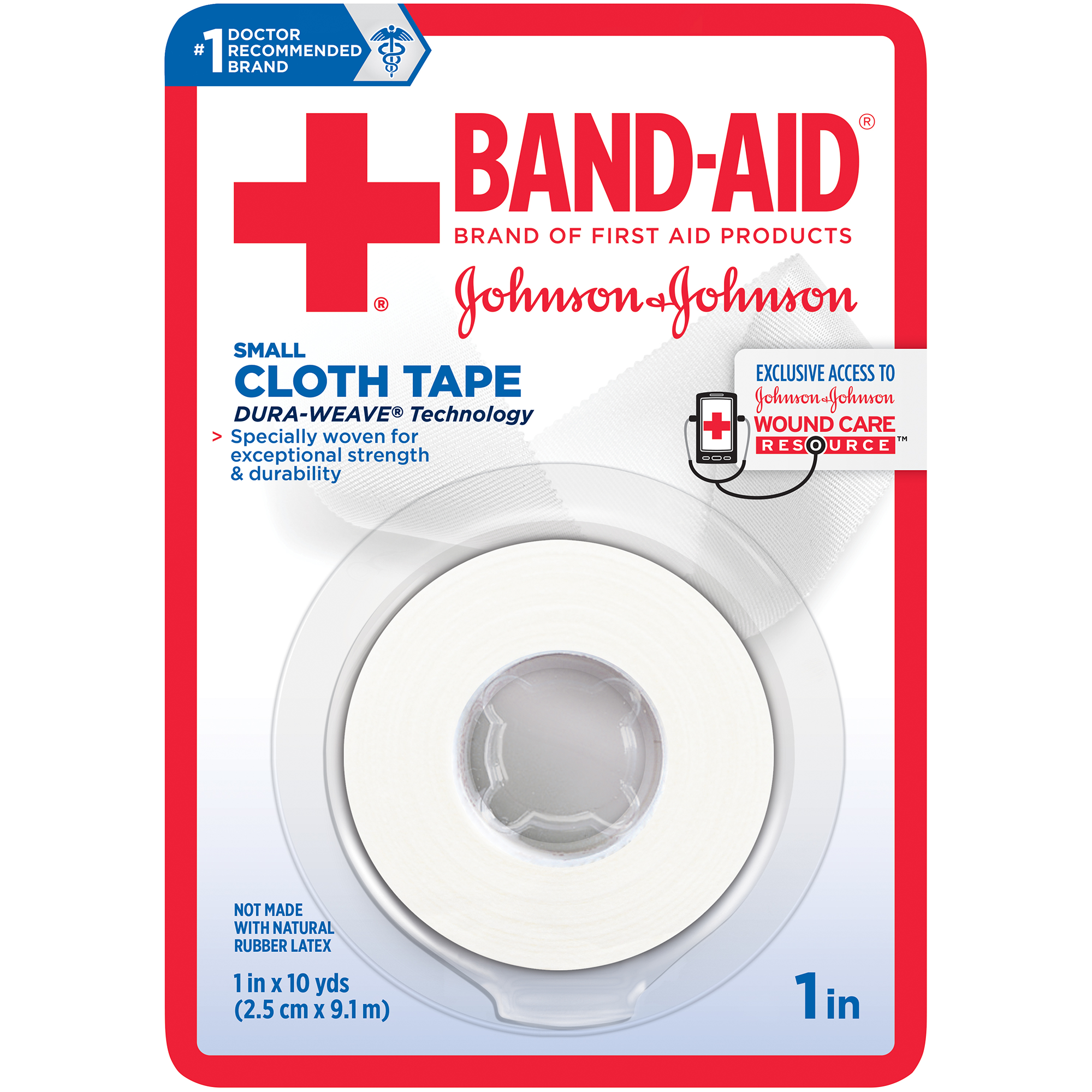 Medical Cloth Tape Band Aid 174 Brand Of First Aid Products