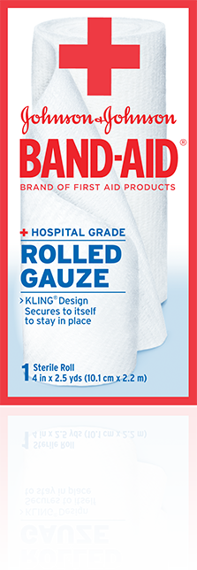 BAND-AID® Brand of First Aid Products Rolled Gauze