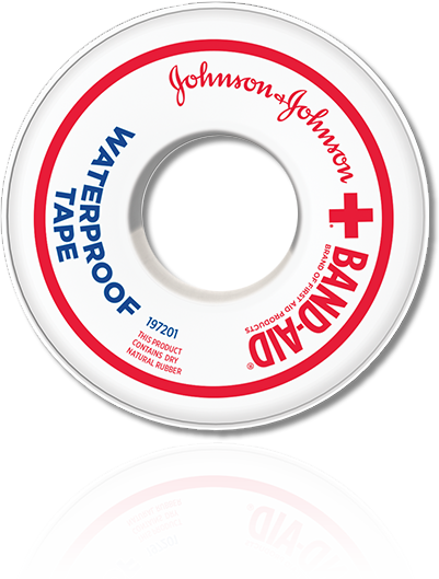 BAND-AID® Brand of First Aid Products WATERPROOF TAPE