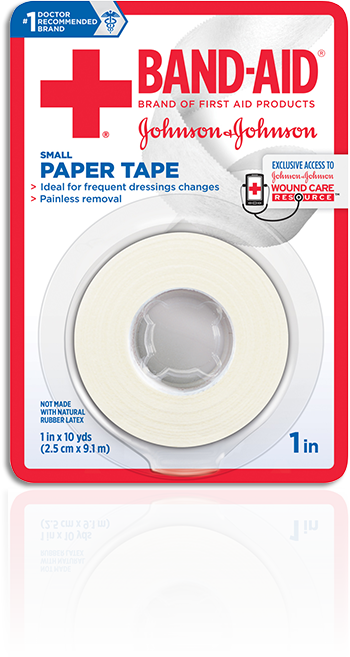 BAND-AID® Brand of First Aid Products Paper Tape