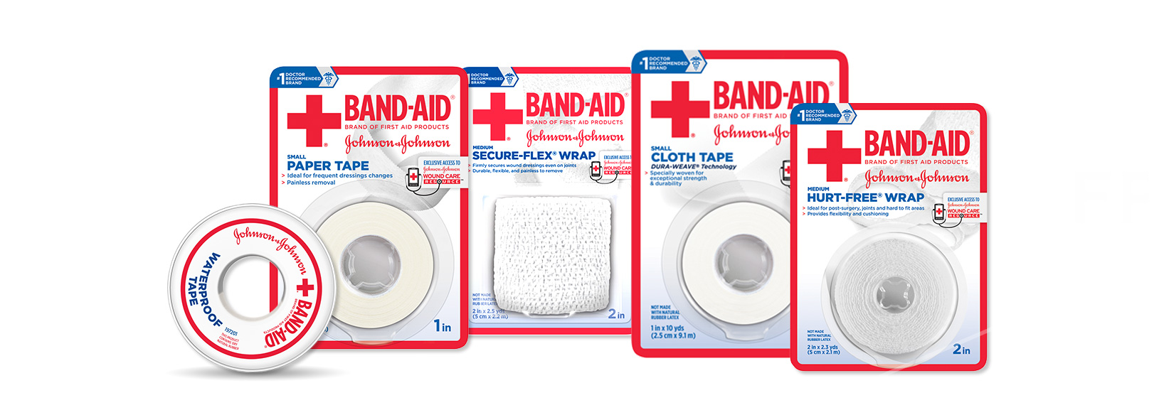 Band-Aid Brand First Aid Tape Wrap