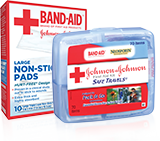 Band-Aid First Aid Kits Pads