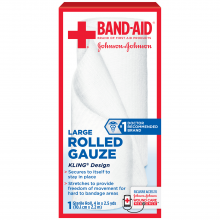 Rolled Gauze BAND-AID® Brand of First Aid Products Assorted Sizes