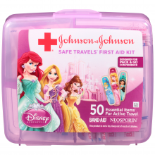 Disney Princess First Aid Kit Johnson and Johnson RED CROSS® Brand