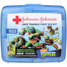 Teenage Mutant Ninja Turtles Johnson and Johnson RED CROSS® Brand
