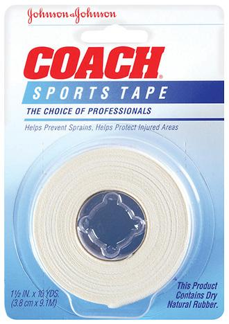 SPORTS Tape Johnson and Johnson COACH®