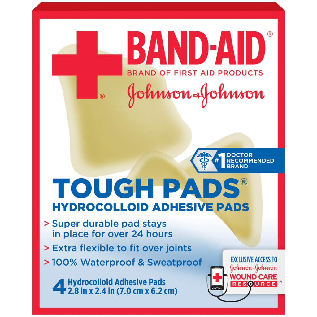TOUGH PADS® BAND-AID® Brand of First Aid Products