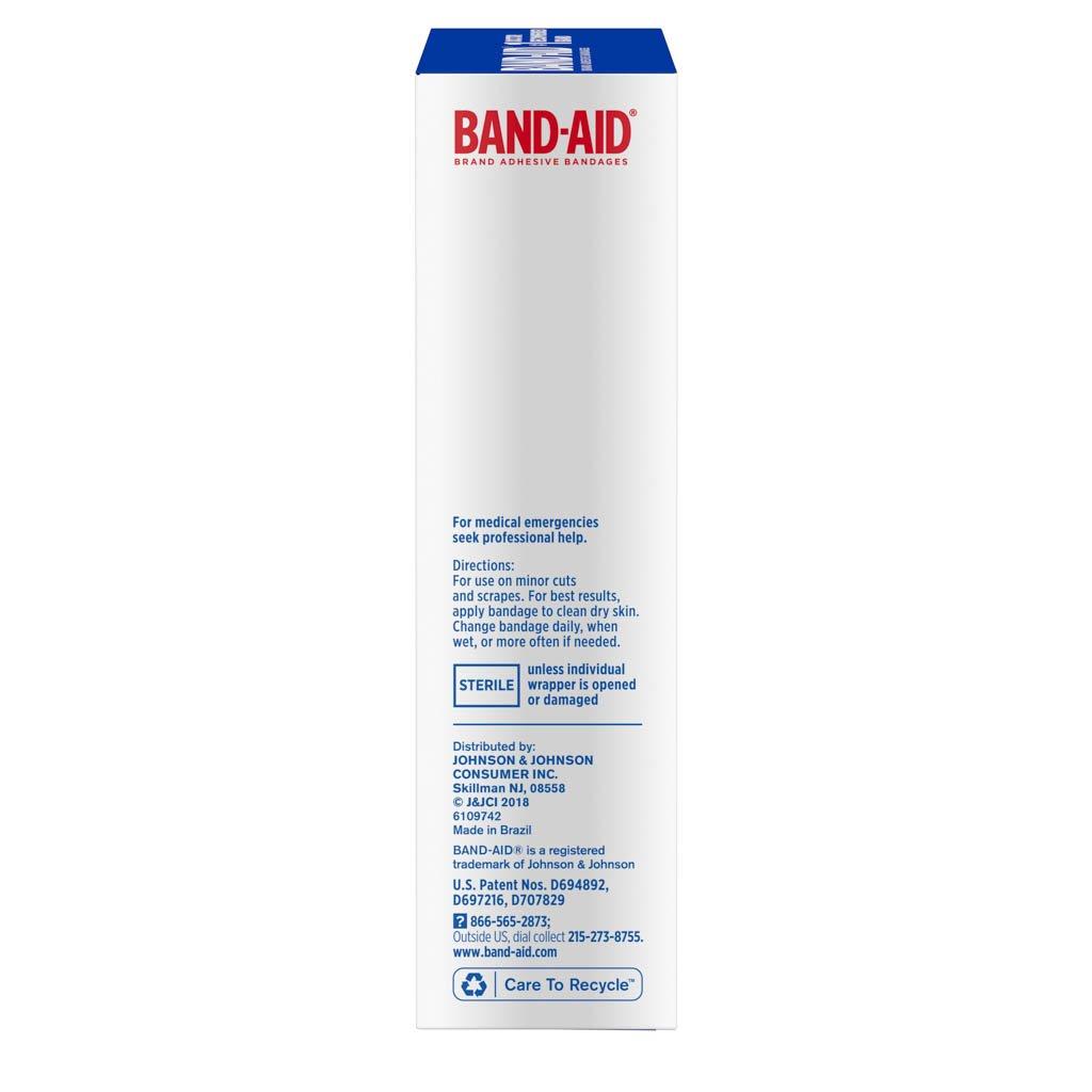 Extra Large Flexible Fabric Bandages, 10 Ct | BAND-AID® Brand