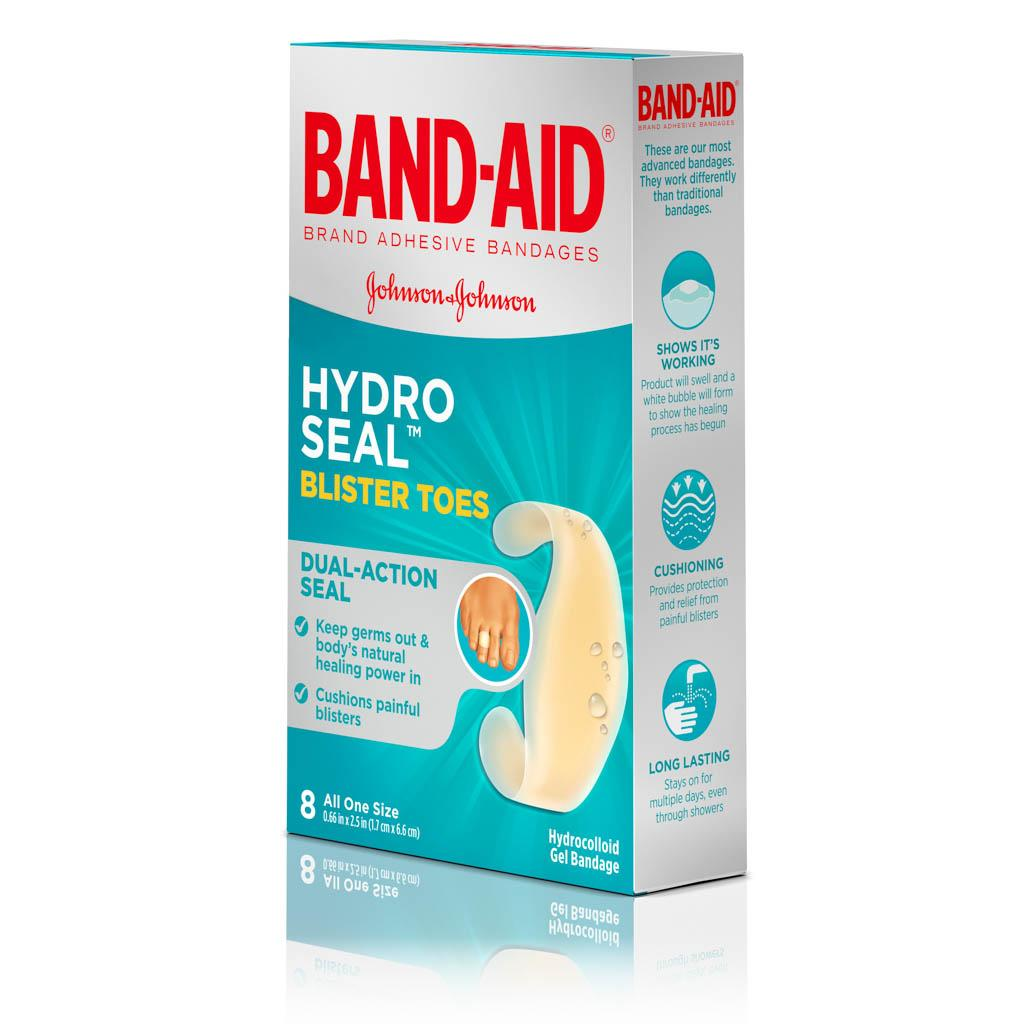 5496f497bd5 HYDRO SEAL™ Toe Blister Bandages, 8 Ct | BAND-AID® Brand Adhesive ...