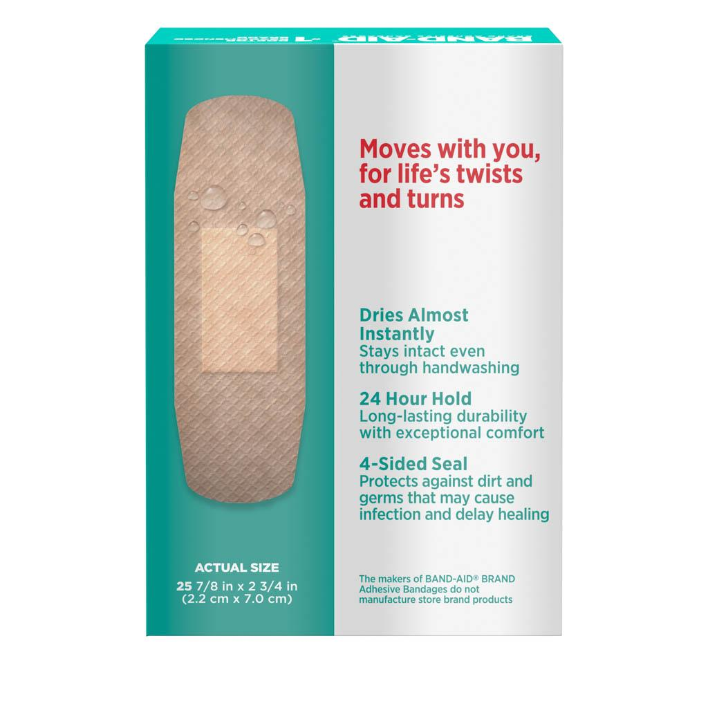 SKIN-FLEX™ Second Skin Bandages, One Size, 25 Ct| BAND-AID